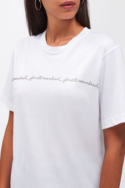 MANKIND TEE CUTIL CLOUD WITH CRYSTALS