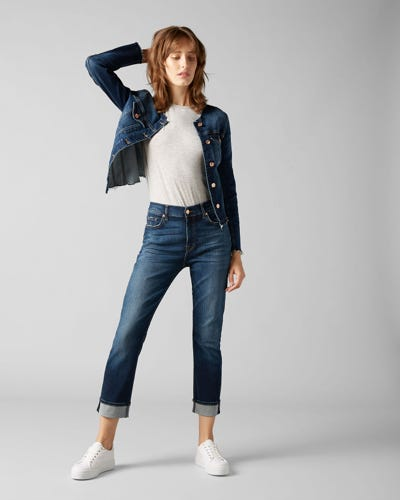 RELAXED SKINNY SLIM ILLUSION MELROSE