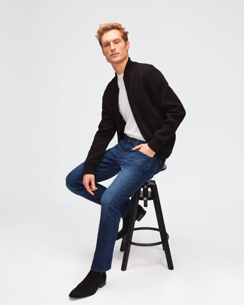 7 For All Mankind - Slimmy Luxe Performance Indigo Blue