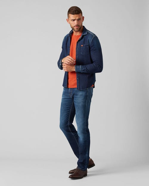 7 For All Mankind - Kayden Broadway Dark Blue With Shadow Pocket