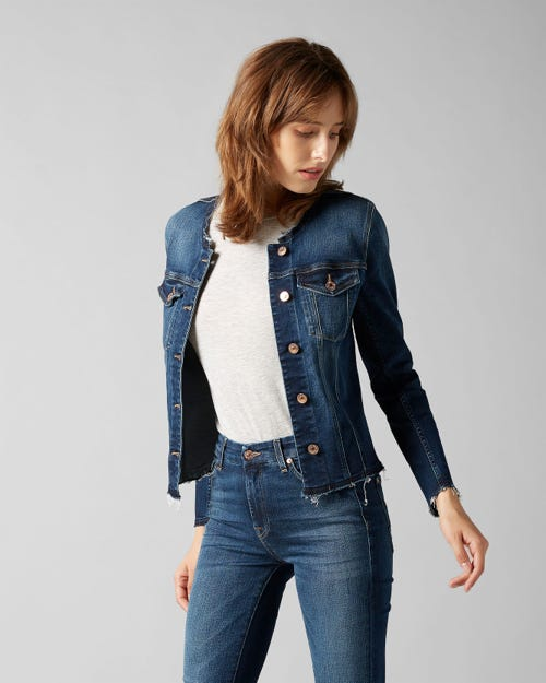 7 For All Mankind - Denim Jacket Slim Illusion Melrose