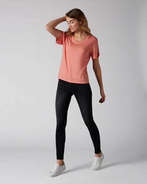 7 For All Mankind - The Skinny Slim Illusion Luxe Rebel