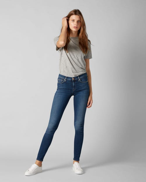 7 for all Mankind - THE SKINNY SLIM ILLUSION LUXE LOS FELIZ
