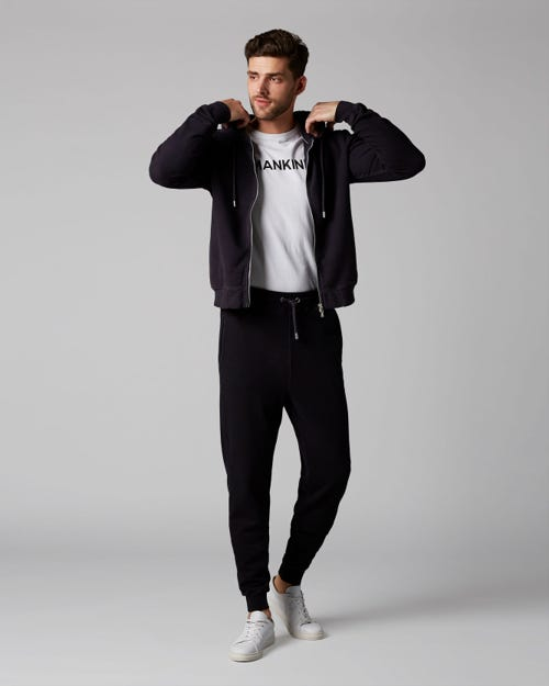JOGGER FLEECE NAVY