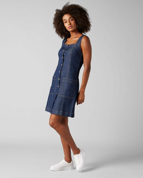 7 For All Mankind - Dress Topanga Rinse Indigo
