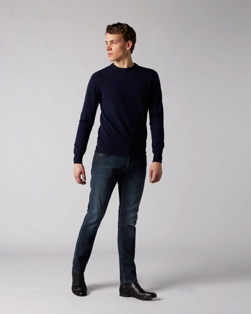 7 For All Mankind - Ronnie Blagnac With Coated Top Block