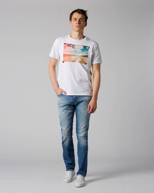 7 For All Mankind - Ronnie Blunch Light Blue