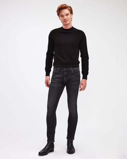 RONNIE LUXE PERFORMANCE WASHED BLACK
