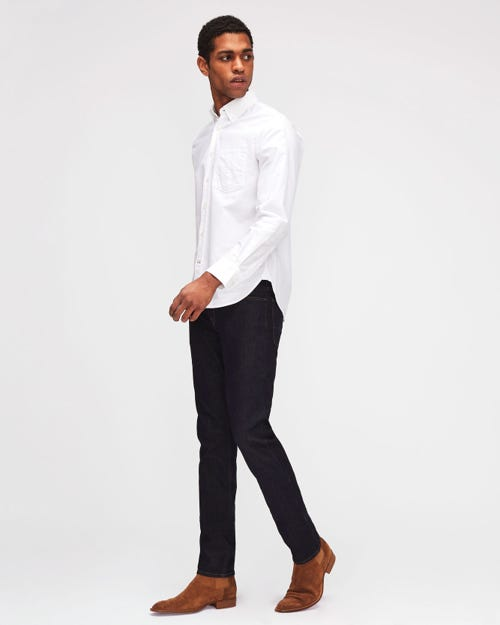 7 For All Mankind - Ronnie Luxe Performance Super Rinse Blue