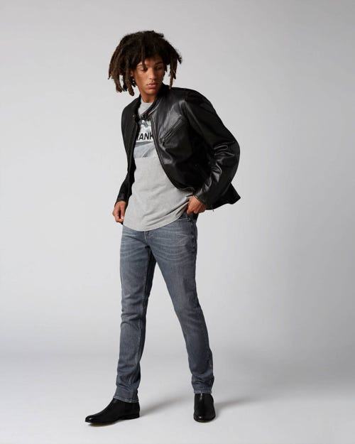 7 For All Mankind - Ronnie Golly Mid Grey