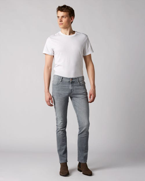 7 For All Mankind - Ronnie Left Hand Cotillo Light Grey With Amf