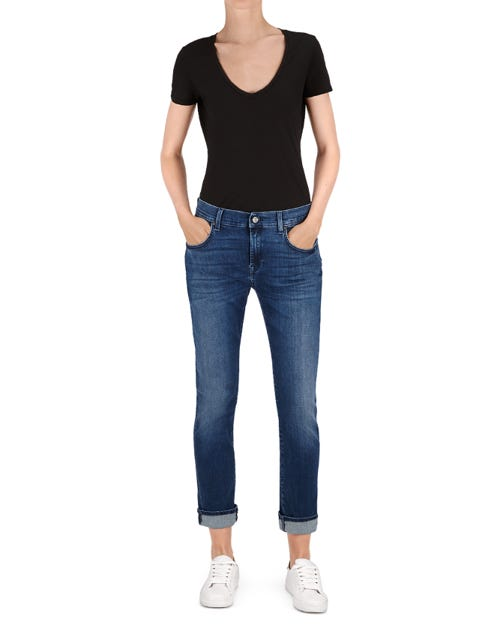 RELAXED SKINNY SLIM ILLUSION BLUE DEPTH