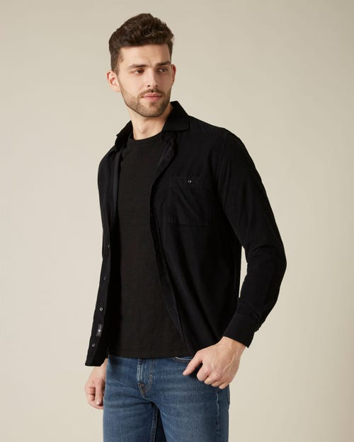OVERSHIRT CORDUROY BLACK