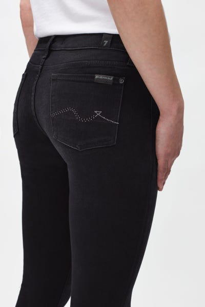 PYPER SLIM ILLUSION FADE TO BLACK WITH EMBELLISHED SQUIGGLE