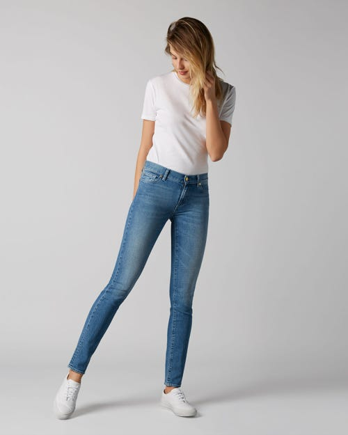 7 For All Mankind - Mid Rise Roxanne Slim Evolution Soulful
