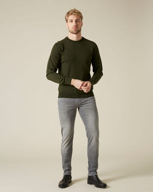 SLIMMY TAPERED XL LUXE PERFORMANCE PLUS GREY