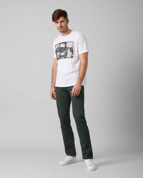 7 For All Mankind - Slimmy Luxe Performance Colors Avocado Green