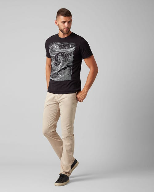 7 For All Mankind - Slimmy Light Weight Dove Beige