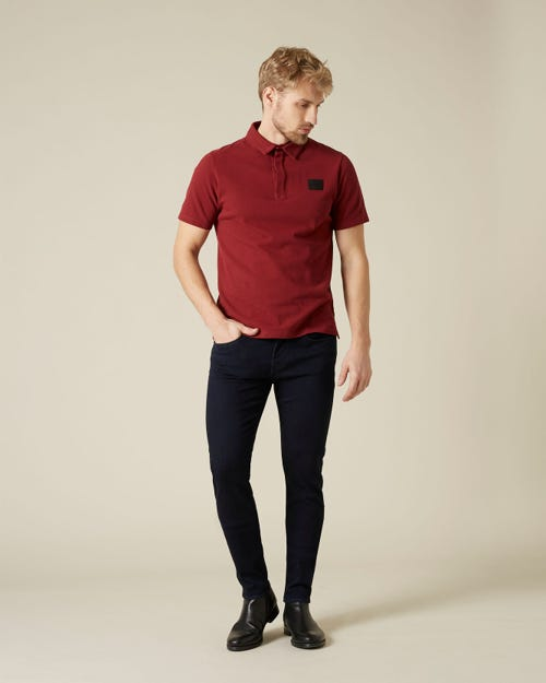 SLIMMY TAPERED LUXE PERFORMANCE PLUS RINSE BLUE