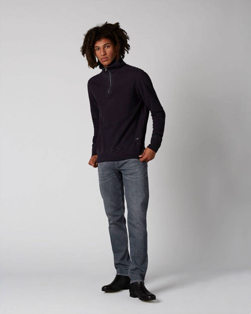 7 For All Mankind - Slimmy Tapered Golly Mid Grey