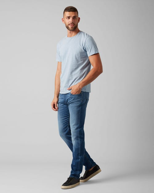 7 For All Mankind - Kayden J Luxe Jogger Mid Blue