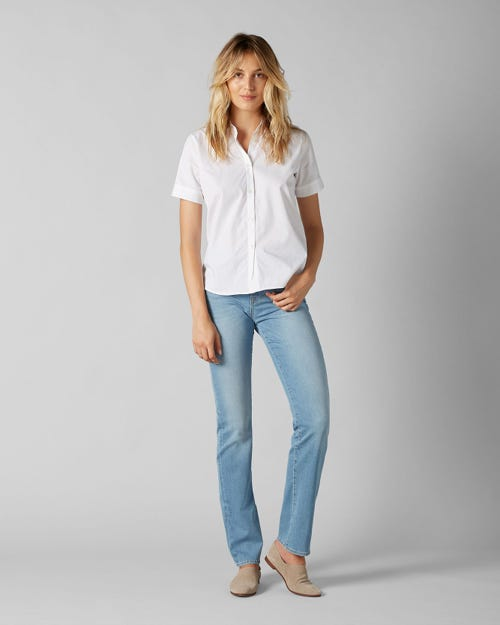 7 For All Mankind - Kimmie Straight B(Air) Marina Light