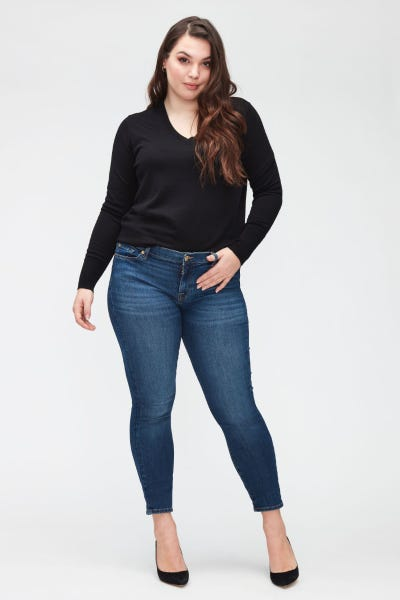 7 For All Mankind - The Skinny Crop Bair Duchess
