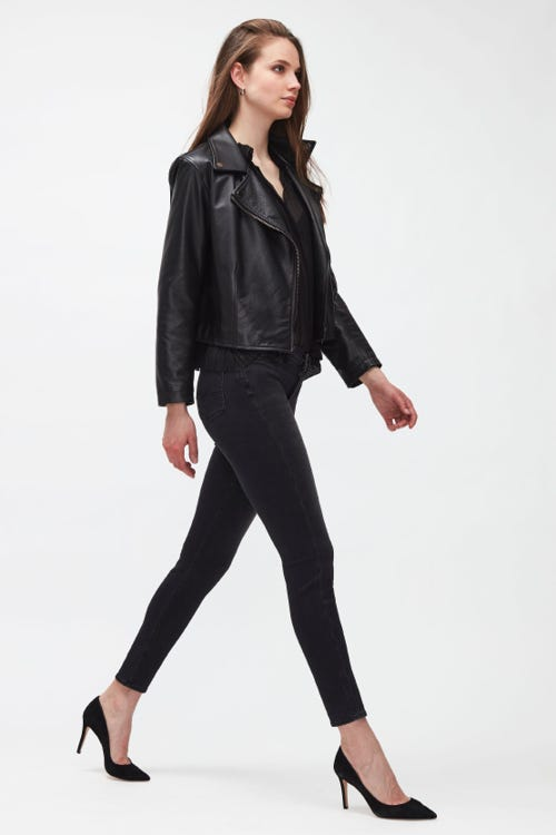THE SKINNY B(AIR) COSMIC WITH EMBELLISHED LABELS