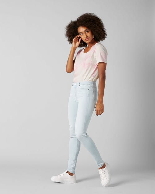 7 For All Mankind - The Skinny Slim Illusion Luxe Surfside