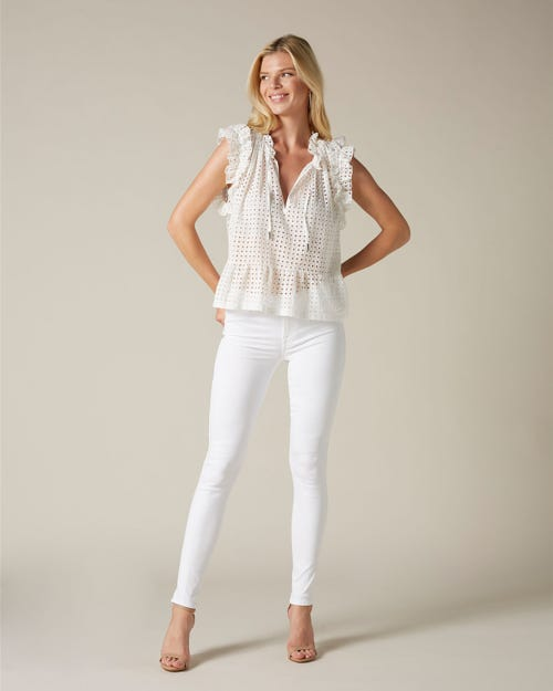 THE SKINNY SLIM ILLUSION PURE WHITE