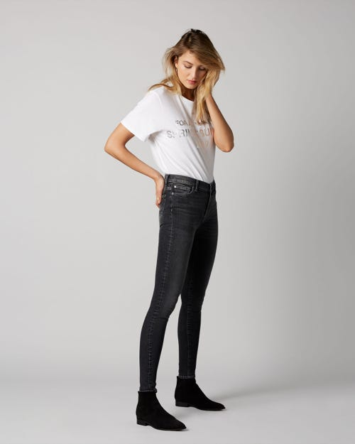 7 For All Mankind - High Waist Skinny Slim Evolution Dallas