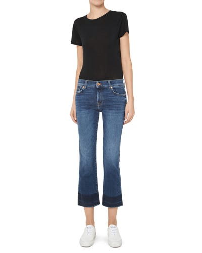 CROPPED BOOT UNROLLED SLIM ILLUSION LOVESONG