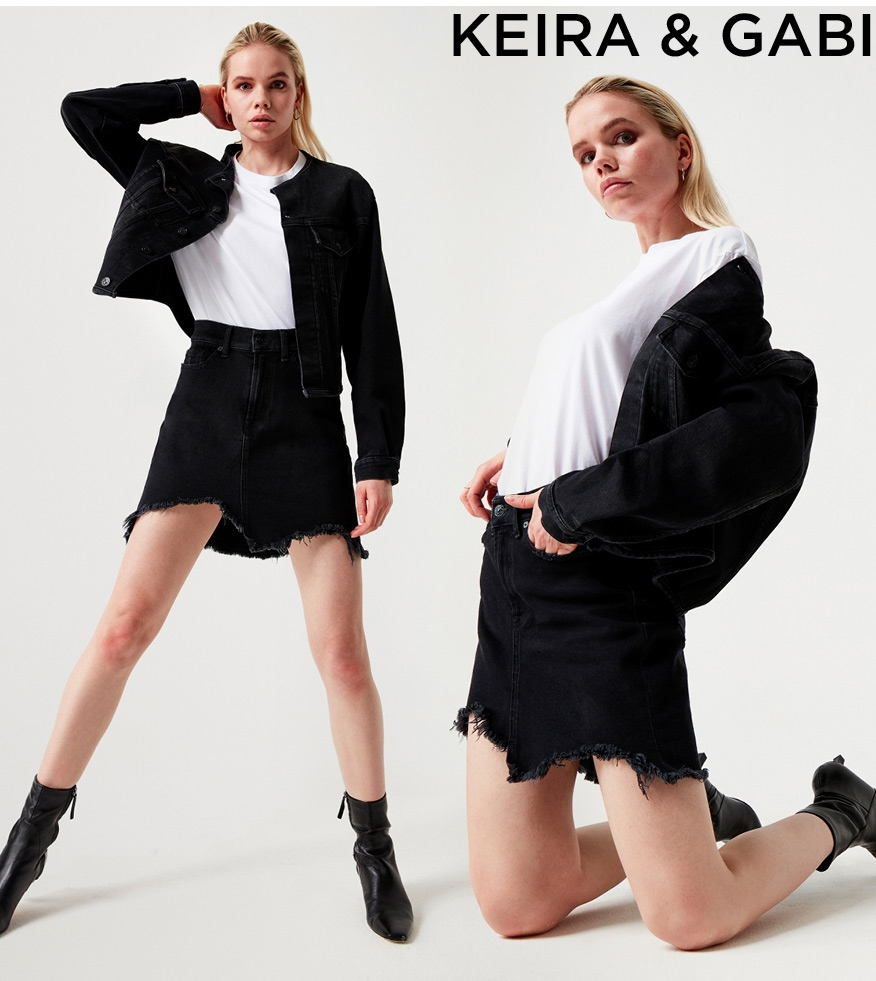 7 for all Mankind - keira & gaby